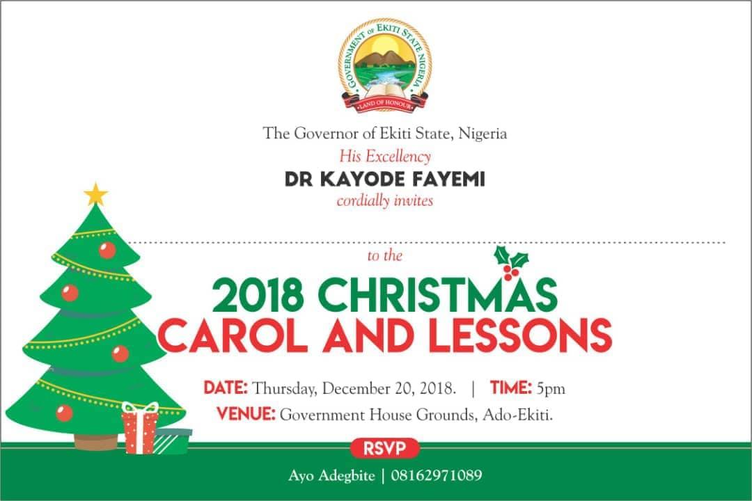 Count Down To Christmas Ekiti 2018 As Christmas Lights Come On