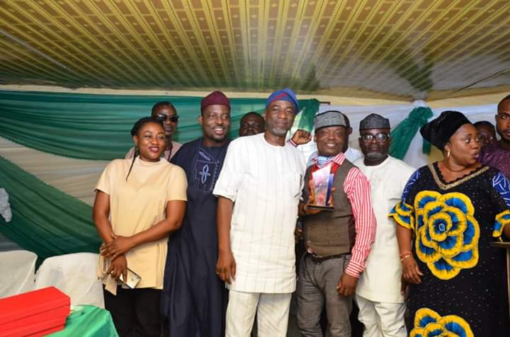 Olumilua bags Most Outstanding Politician Award abiodun borisade 1