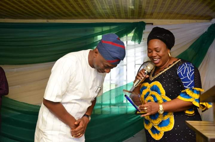 Olumilua bags Most Outstanding Politician Award abiodun borisade 2