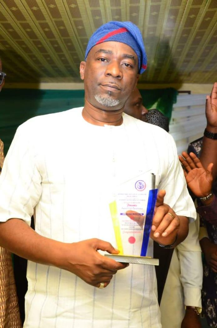Olumilua bags Most Outstanding Politician Award abiodun borisade