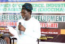 Our Strategies for Entrepreneurship Development in Ekiti State - DG MEDA