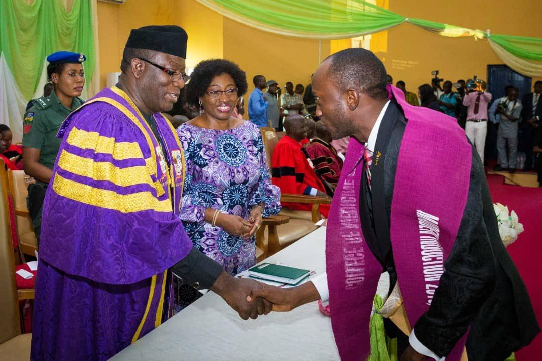 Why I offered EKSU Pioneer Medical Graduates Automatic Employment Fayemi
